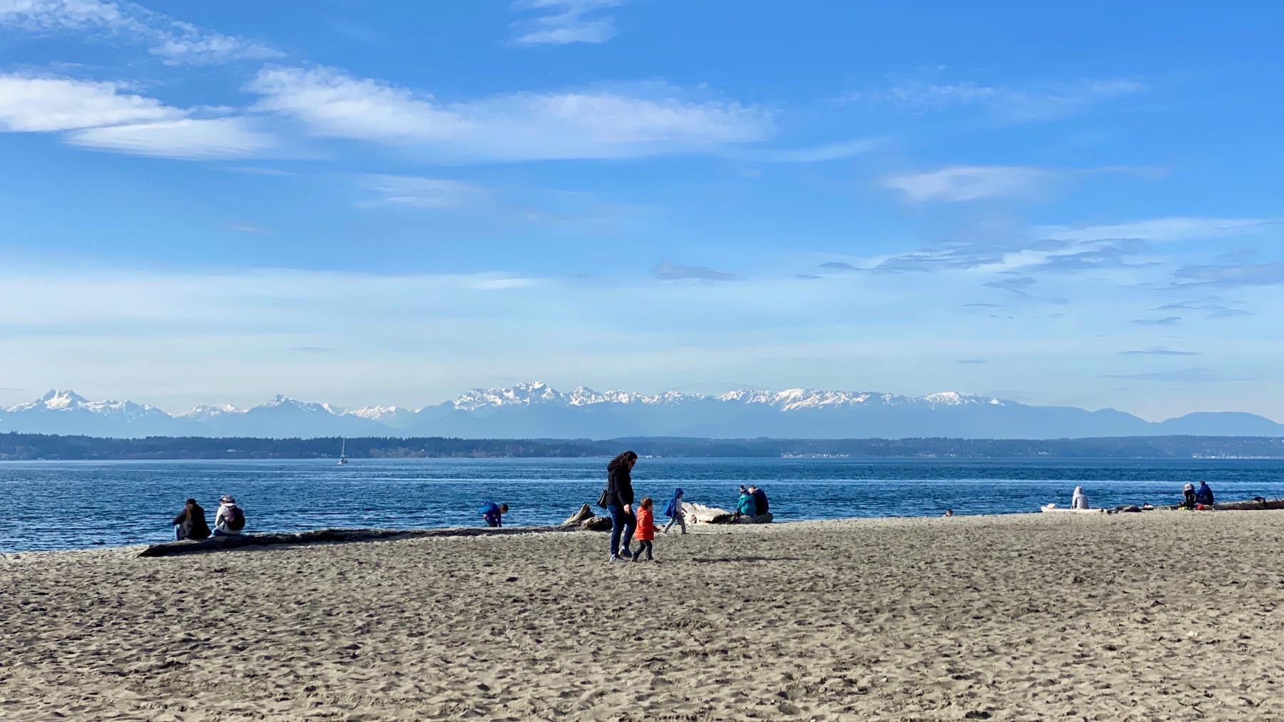 Olympics beach