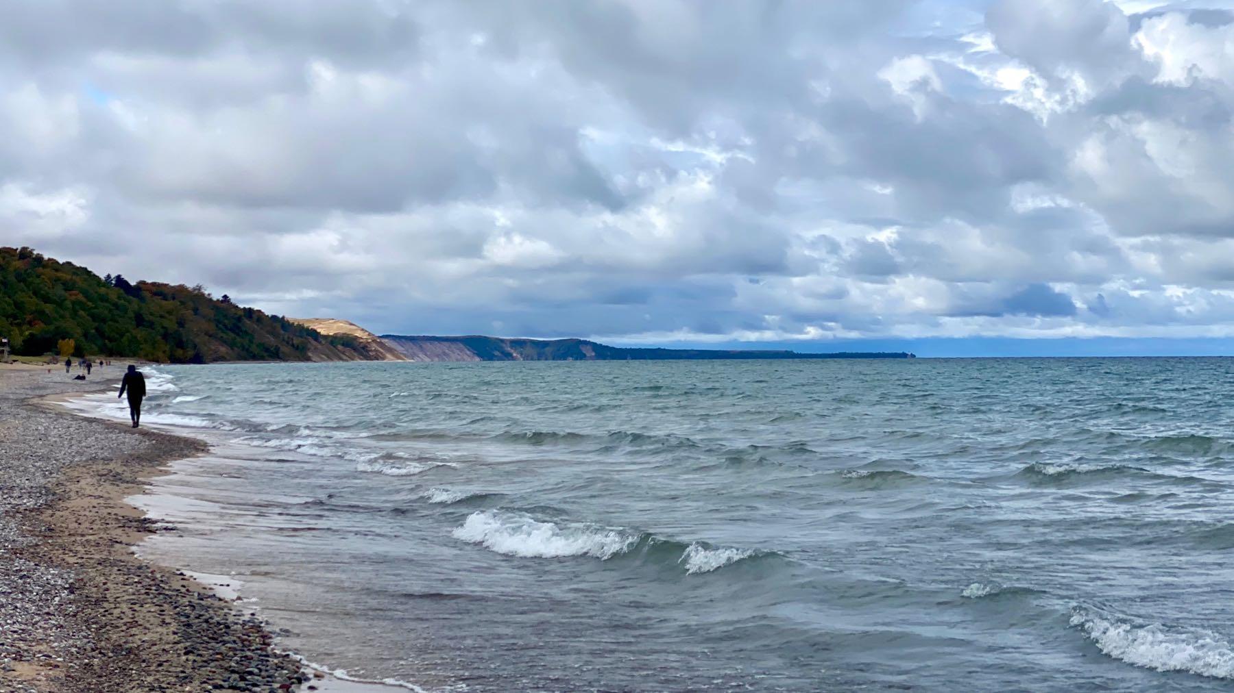 Lake superior beach