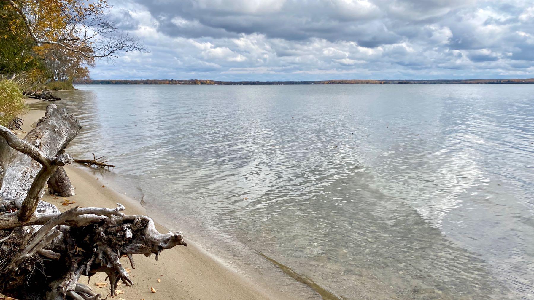 Lake w beach