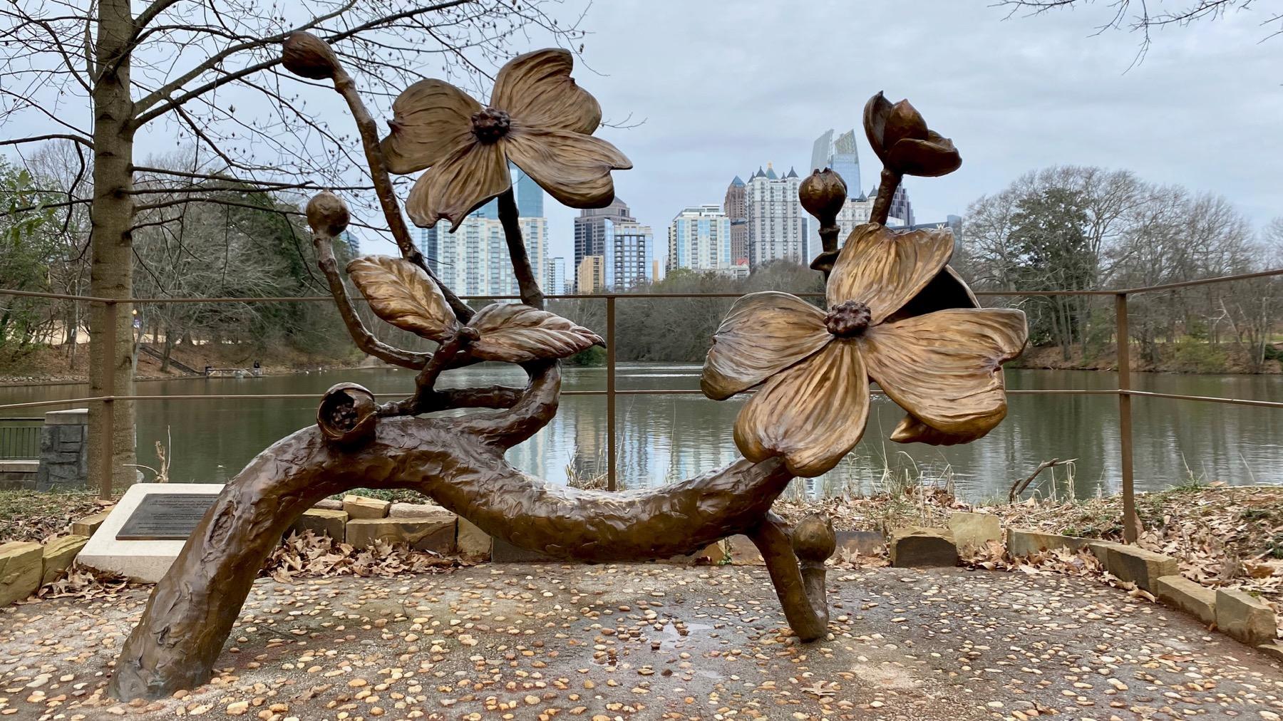 Dogwood statue
