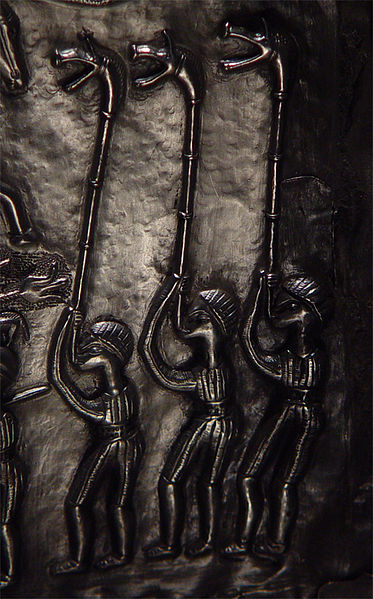 373px Figures with horns on the Gundestrup Cauldron