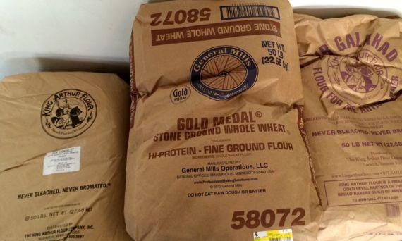 50lb flour bags