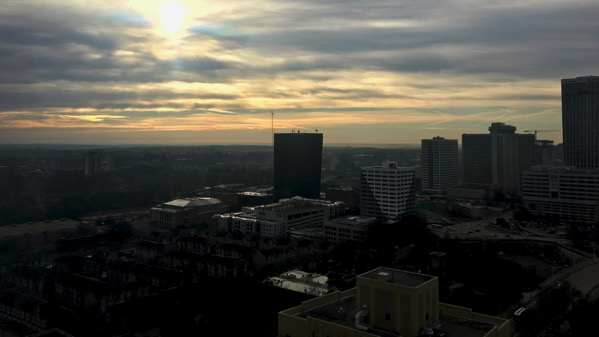 ATL morning skyline