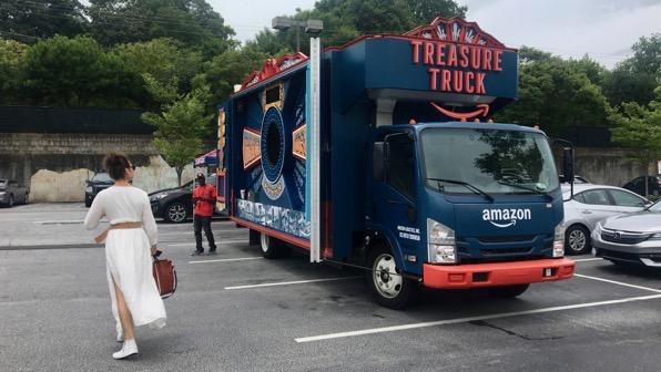 Am treasure truck