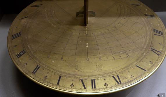 AnM 1713 double horizontal sundial