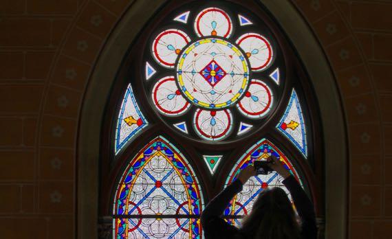AnM church glass