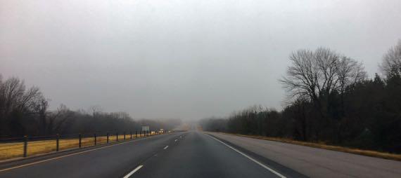 Arkansas fog