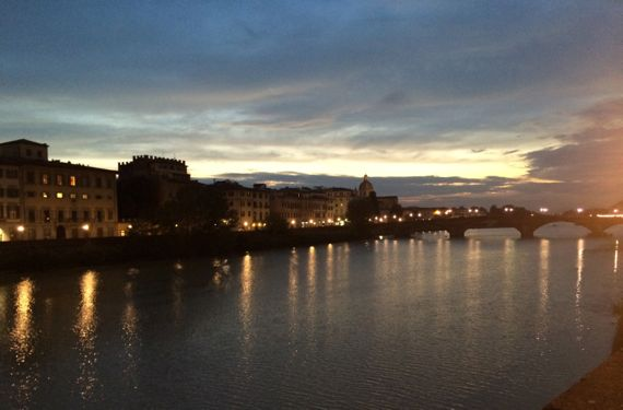 Arno post sunset