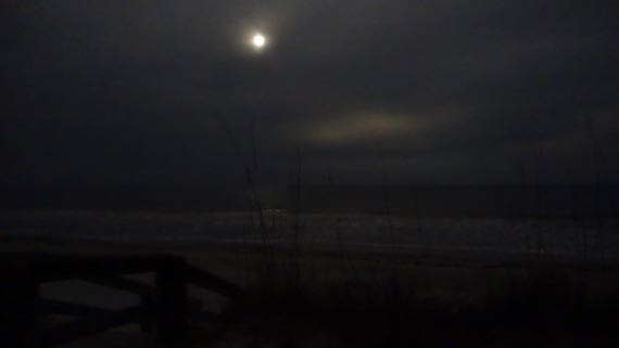 Atlantic moonlight