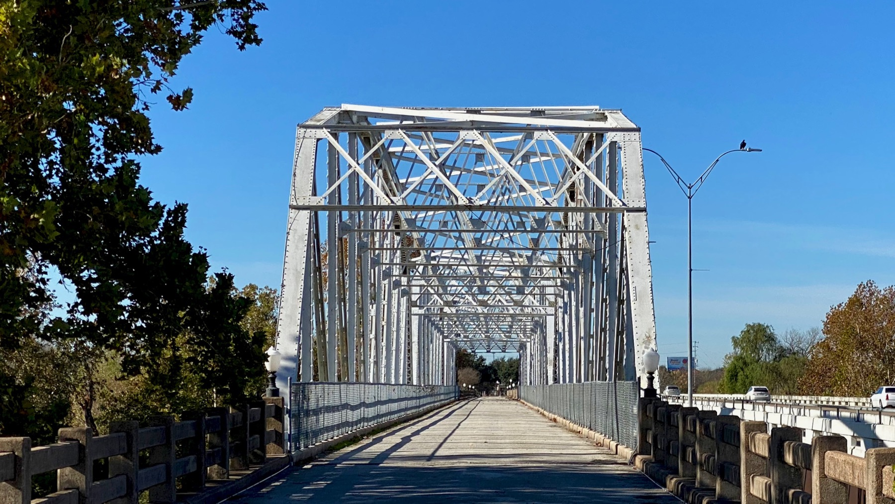 Bastrop old bridge