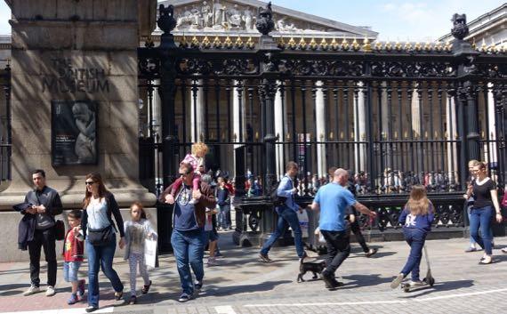Brit Mus street view