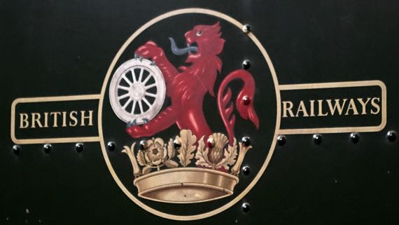 Brit Rail lion wheel crown