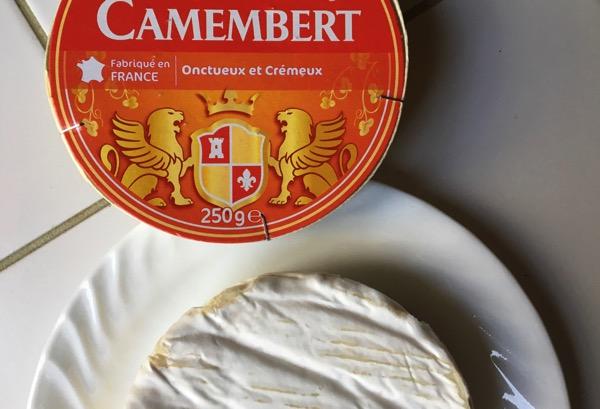 Camembert snack