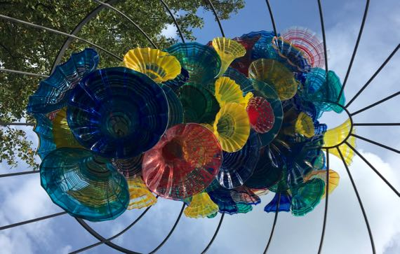 Chihuly overhead