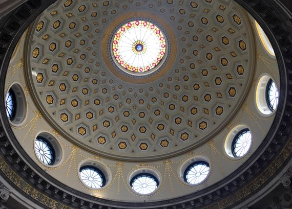City Hall dome