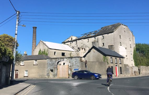 Clara abandoned factory