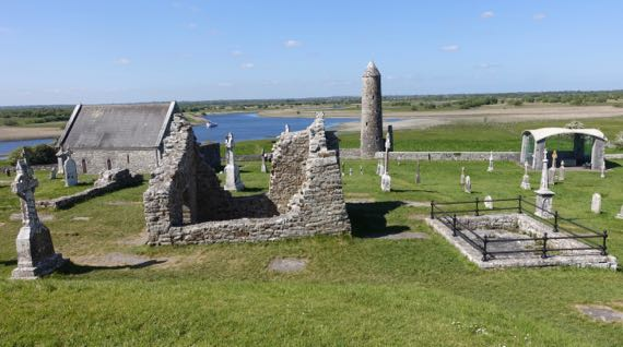 Clonmacnoise river view