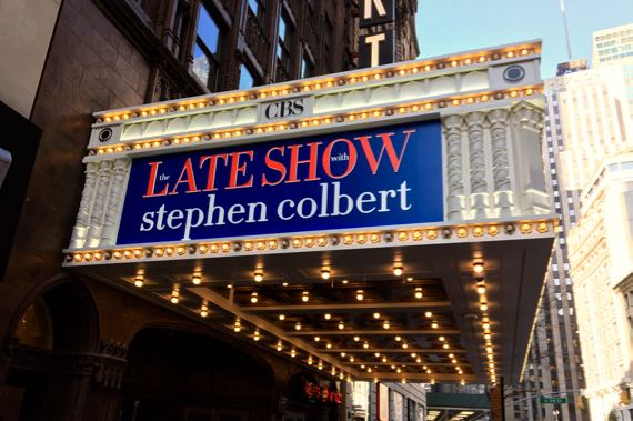 Colbert marquee