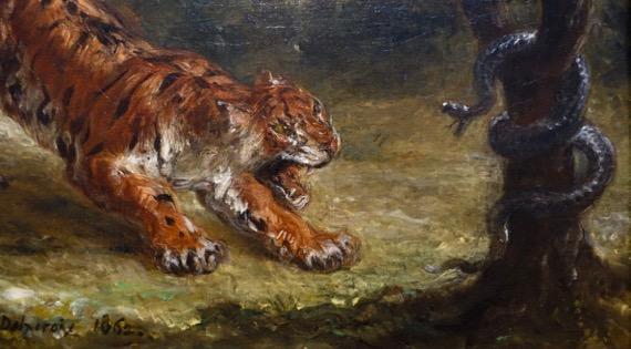 Delacroix tiger snake