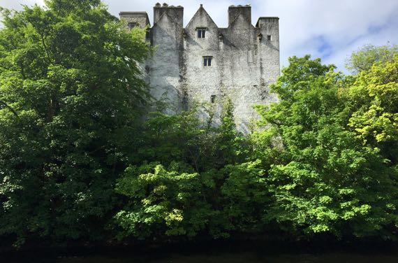 Donegal Castle river
