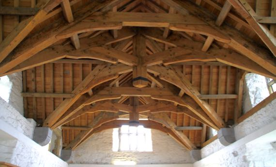 Donegal great hall roof