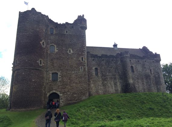 Doune Castle THAT view