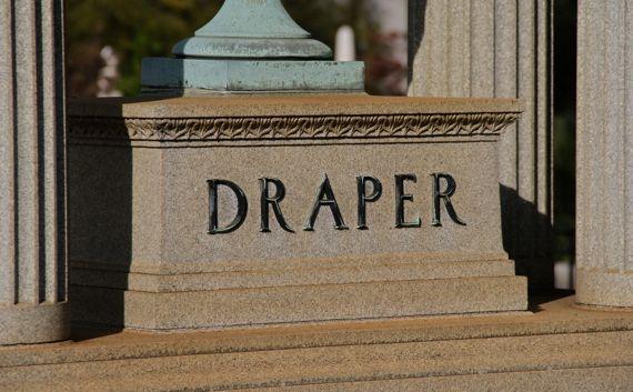 Draper monument Oakland cemetery ATL