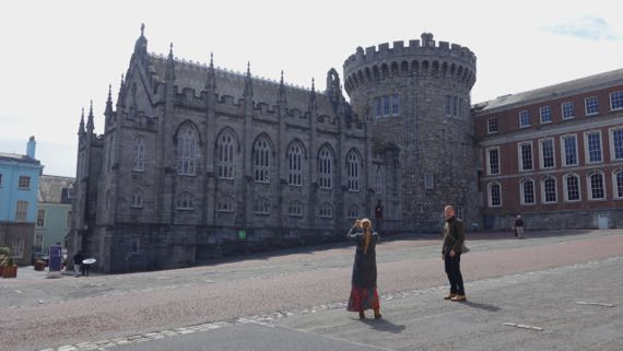 Dublin medieval castle tower