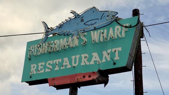 Fish wharf rest