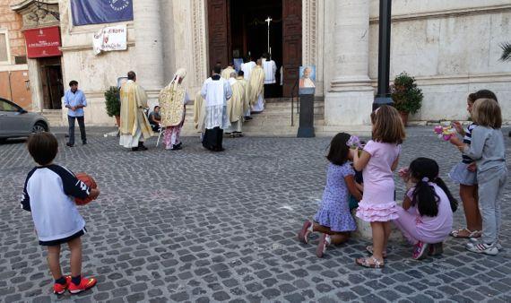Fri mass S Salvatore in Lauro