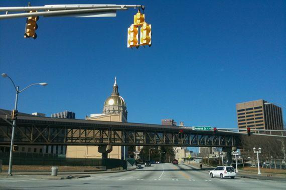 GA capitol dome Mem Drive