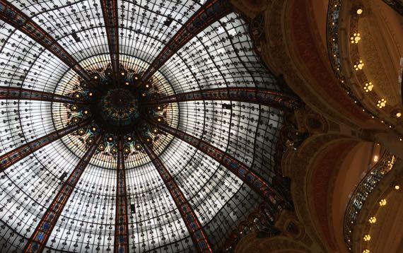 Galleria LaFayette dome balconies
