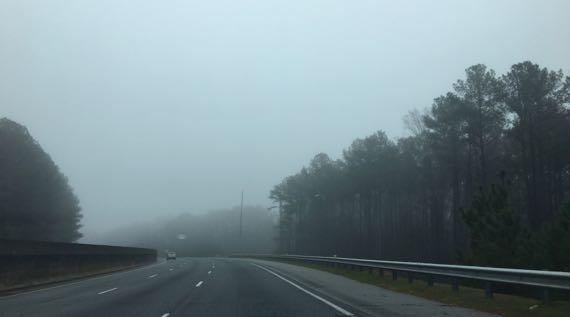 Georgia fog