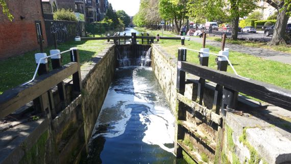 Grand Canal lock