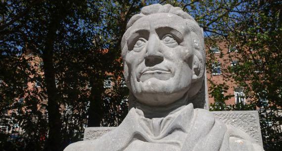 Grattan statue
