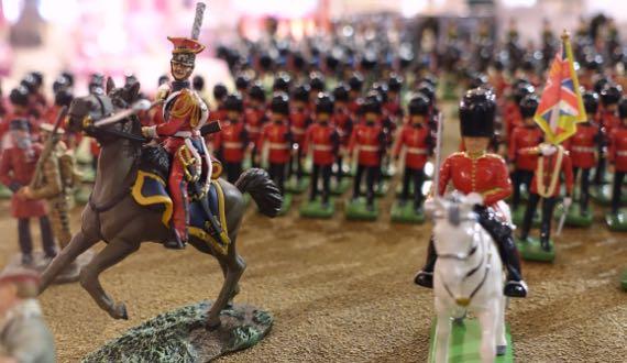 Harrods army men