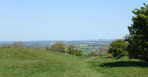 Hill of Tara avenue view nroth