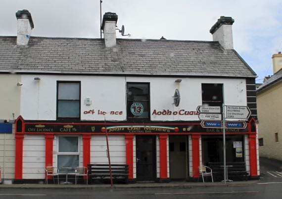 John the Miners bar Carrick