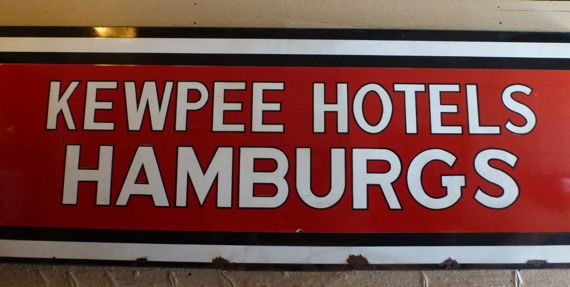 Kewpee sign entry