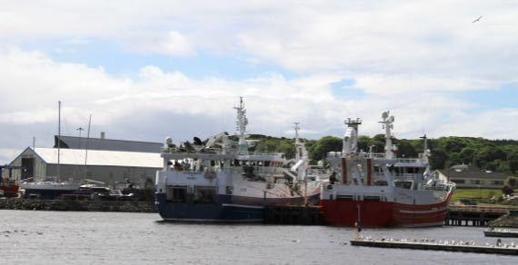 Killybegs working boats