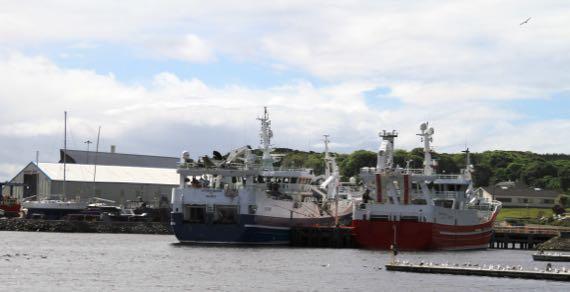 Killybegs working boats