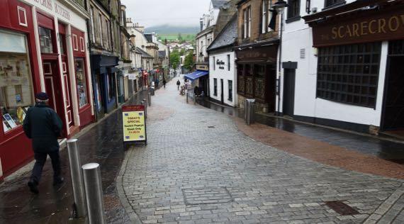 Kilsyth market street