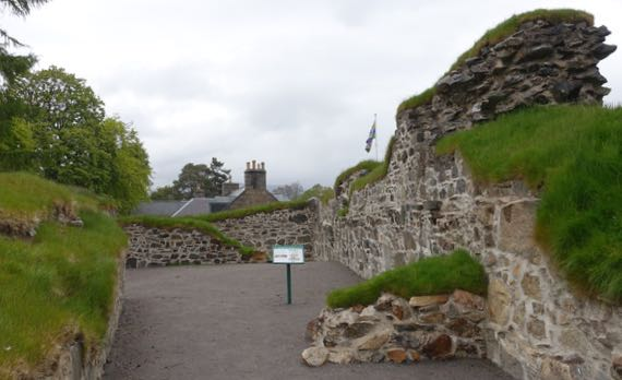 Kindrochit Castle ruins
