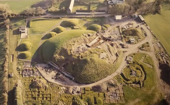 Knowth excavations