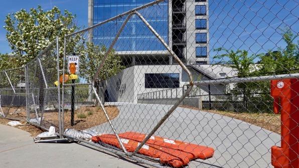 Kroger fenced