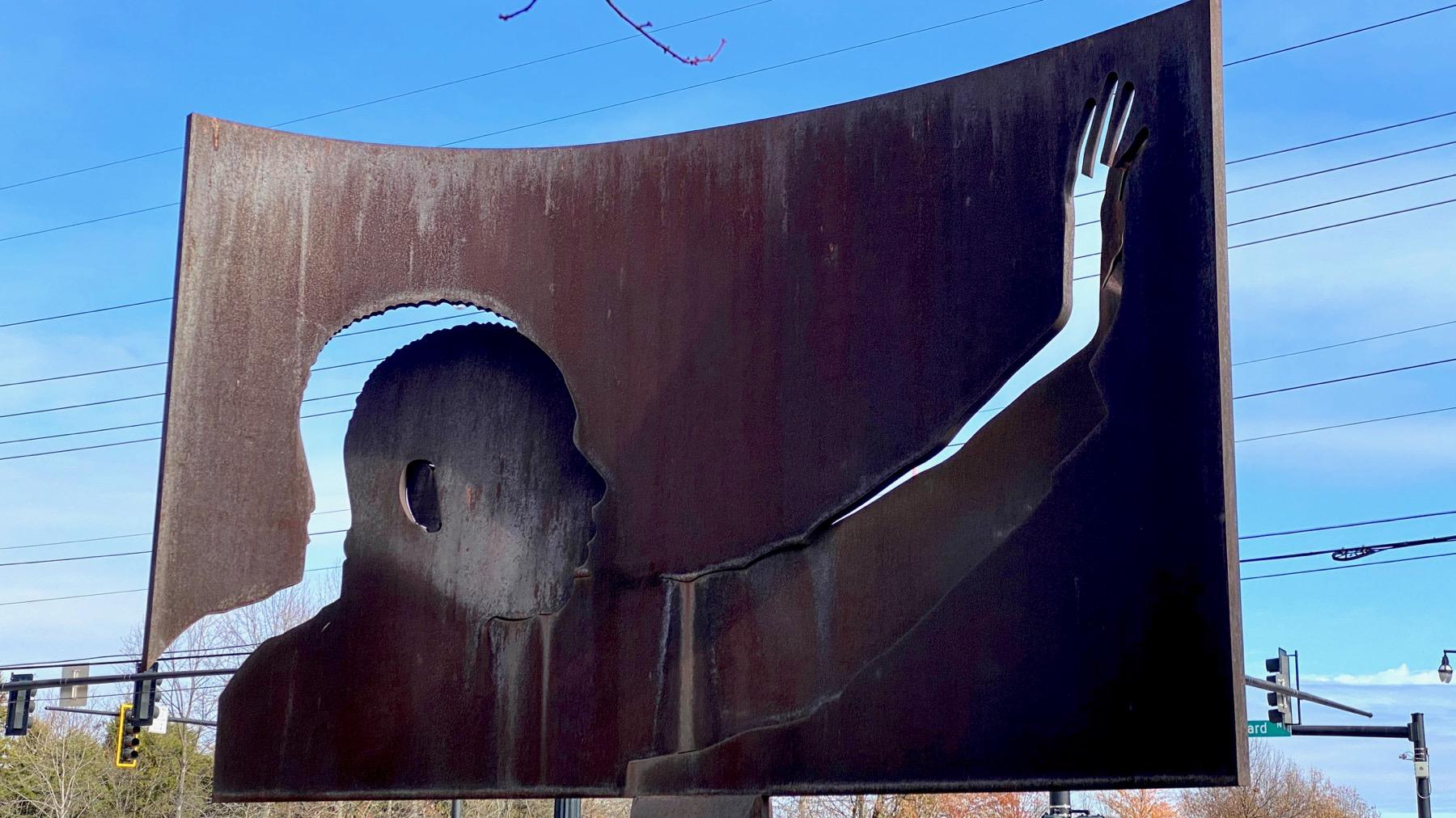 MLK statue ATL