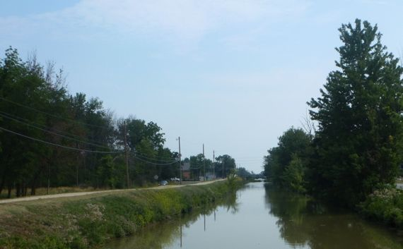 M E canal at spencerville oh