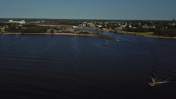 Manistique harbor