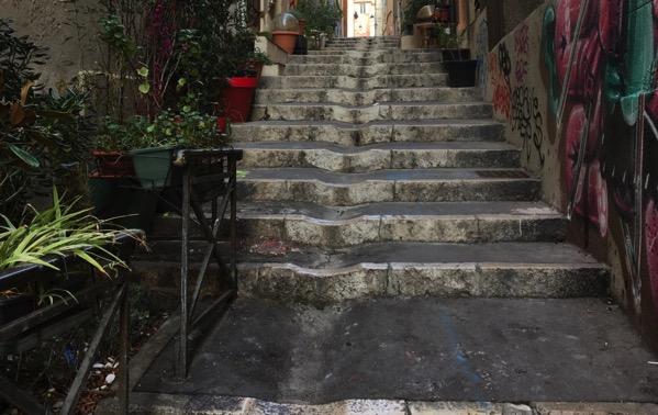 Marseille step lane