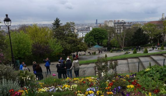 Montmartre view south